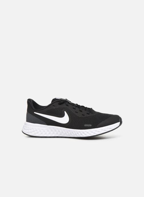 Sneaker Nike Nike Revolution 5 (Gs) schwarz ansicht von hinten