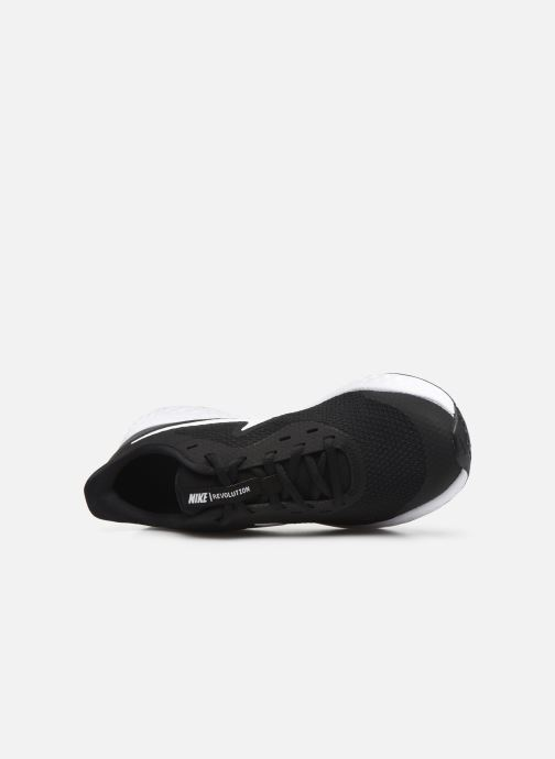 Deportivas Nike Nike Revolution 5 (Gs) Negro vista lateral izquierda