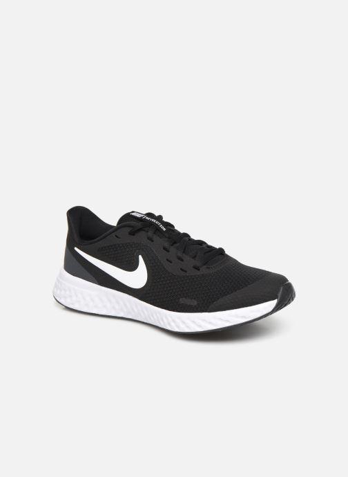 Sneakers Nike Nike Revolution 5 (Gs) Sort detaljeret billede af skoene
