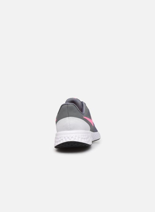Deportivas Nike Nike Revolution 5 (Gs) Gris vista lateral derecha