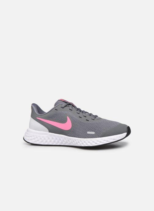 Sneakers Nike Nike Revolution 5 (Gs) Grigio immagine posteriore