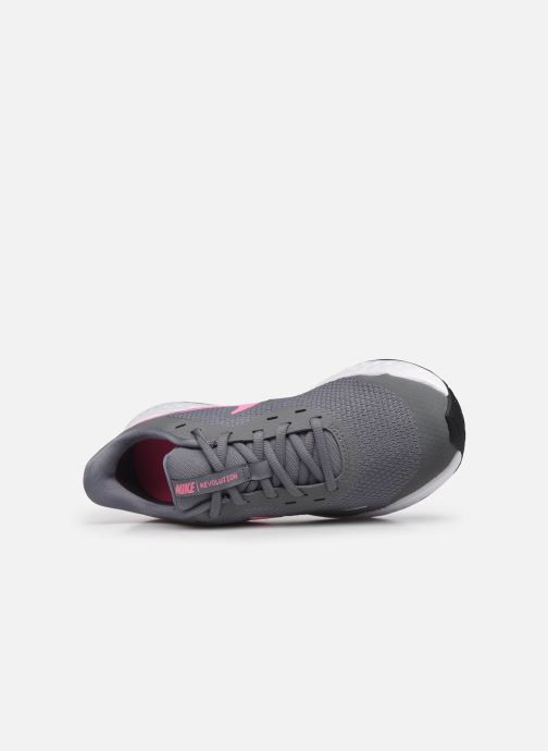 Deportivas Nike Nike Revolution 5 (Gs) Gris vista lateral izquierda