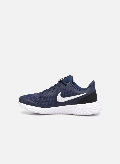 Baskets Nike Nike Revolution 5 (Gs) Bleu vue face