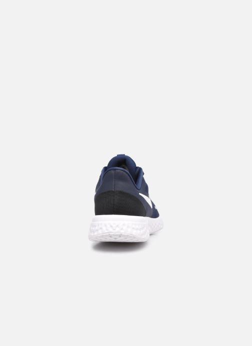 Baskets Nike Nike Revolution 5 (Gs) Bleu vue droite