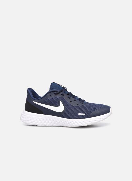 Sneaker Nike Nike Revolution 5 (Gs) blau ansicht von hinten