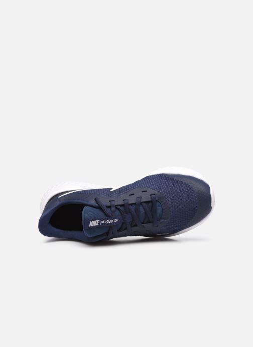Sneaker Nike Nike Revolution 5 (Gs) blau ansicht von links