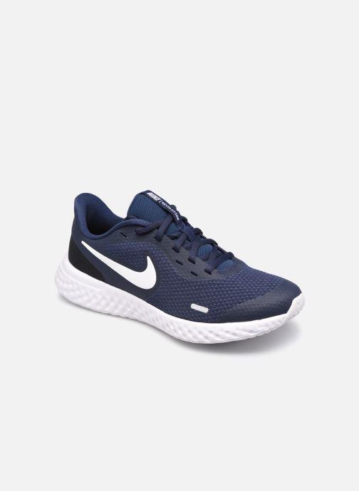 Baskets Nike Nike Revolution 5 (Gs) Bleu vue détail/paire