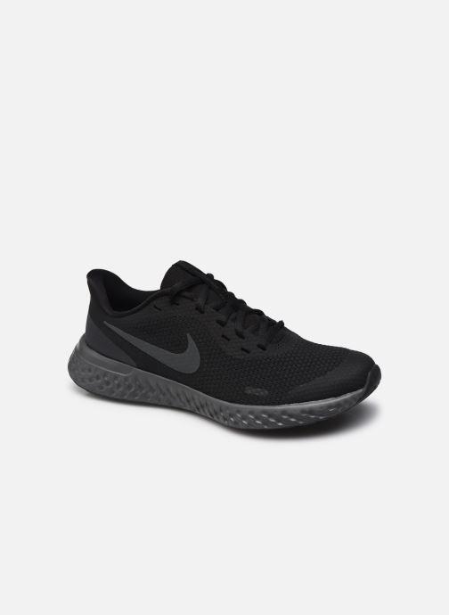 Deportivas Nike Nike Revolution 5 (Gs) Negro vista de detalle / par