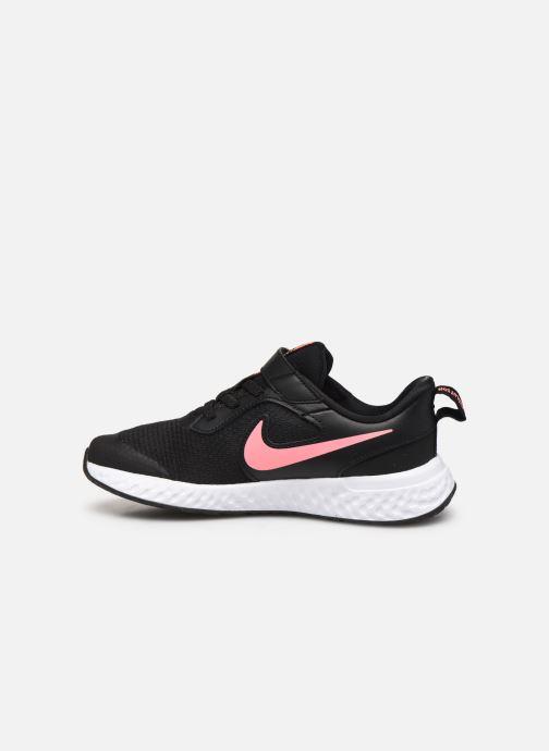 Sneaker Nike Nike Revolution 5 (Psv) schwarz ansicht von vorne