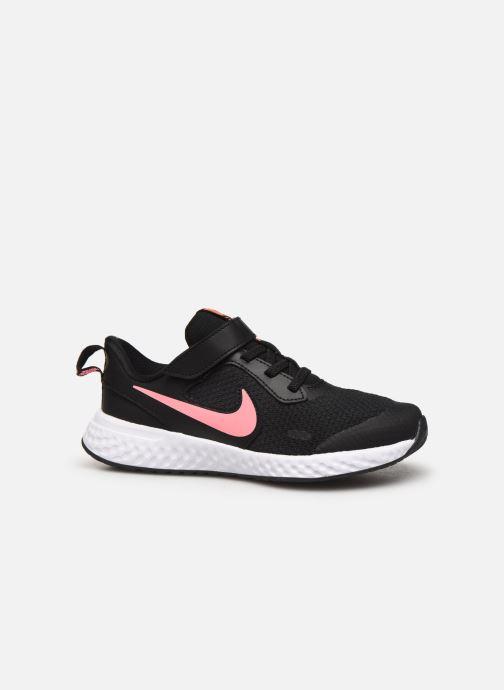 Deportivas Nike Nike Revolution 5 (Psv) Negro vistra trasera