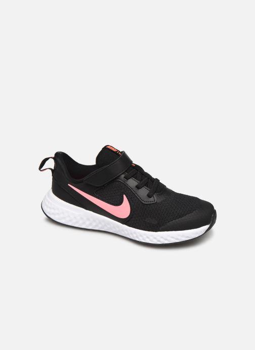 Sneakers Nike Nike Revolution 5 (Psv) Sort detaljeret billede af skoene