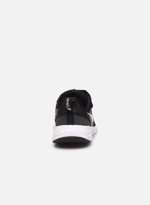 Deportivas Nike Nike Revolution 5 (Psv) Negro vista lateral derecha