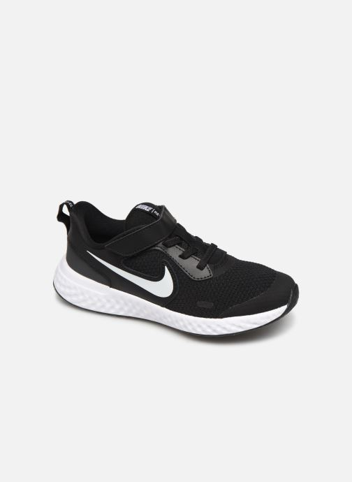 Deportivas Nike Nike Revolution 5 (Psv) Negro vista de detalle / par