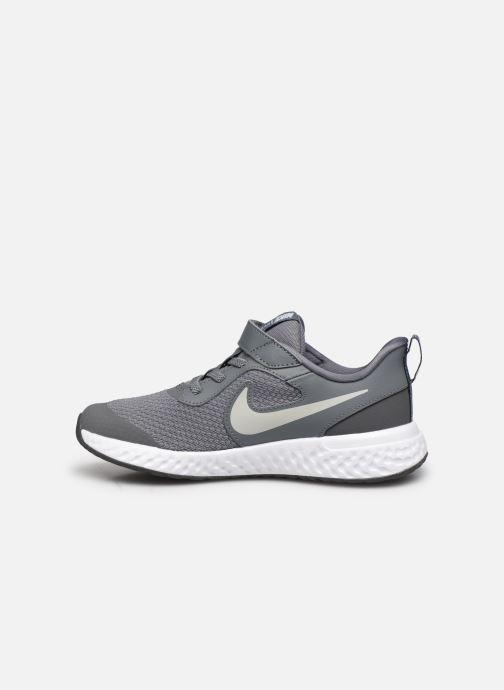 Deportivas Nike Nike Revolution 5 (Psv) Gris vista de frente