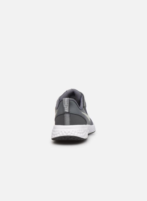 Deportivas Nike Nike Revolution 5 (Psv) Gris vista lateral derecha