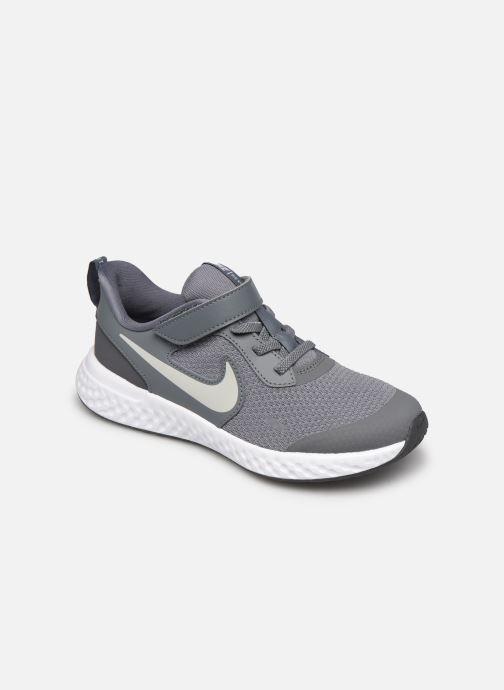 Baskets Nike Nike Revolution 5 (Psv) Gris vue détail/paire
