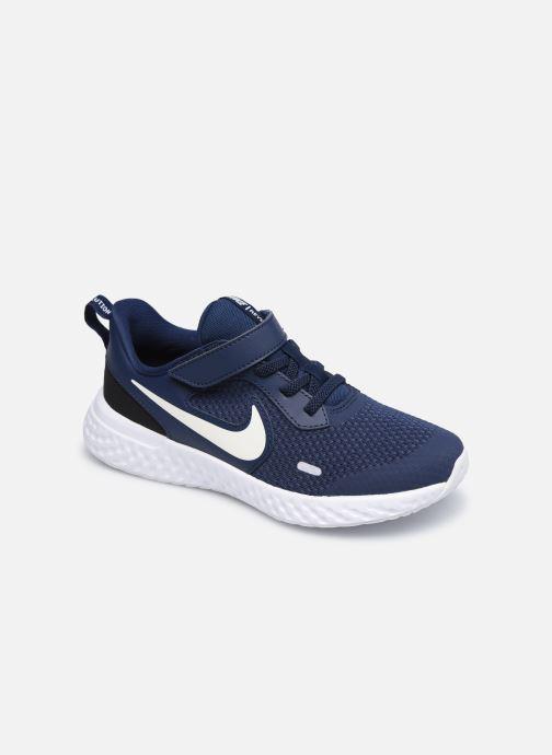 Baskets Nike Nike Revolution 5 (Psv) Bleu vue détail/paire