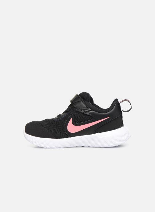 Sneaker Nike Nike Revolution 5 (Tdv) schwarz ansicht von vorne