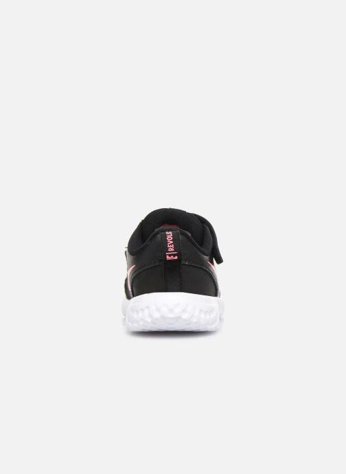 Sneaker Nike Nike Revolution 5 (Tdv) schwarz ansicht von rechts