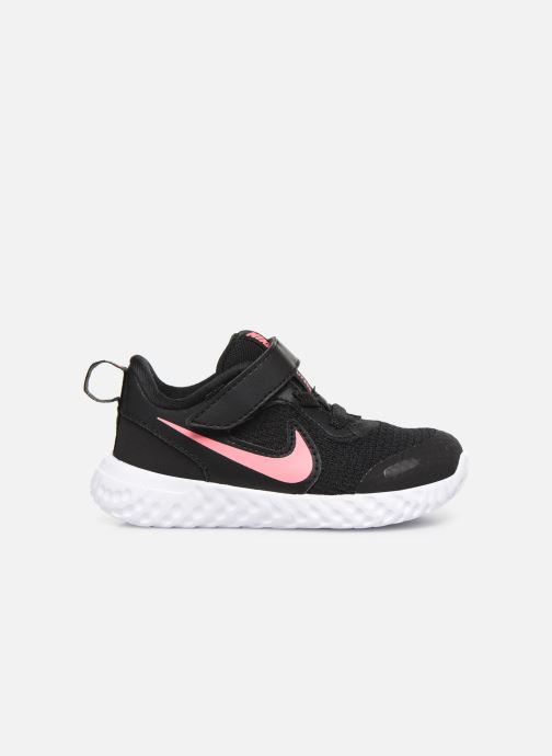 Sneaker Nike Nike Revolution 5 (Tdv) schwarz ansicht von hinten
