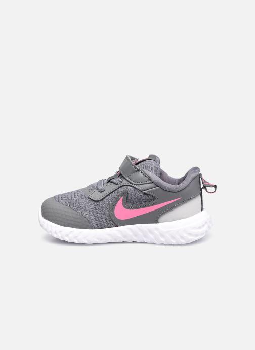 Sneaker Nike Nike Revolution 5 (Tdv) grau ansicht von vorne