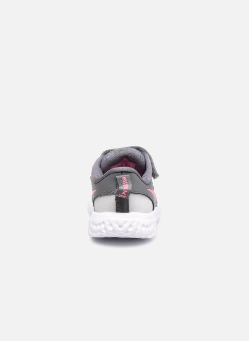 Sneaker Nike Nike Revolution 5 (Tdv) grau ansicht von rechts
