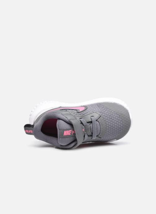 Sneaker Nike Nike Revolution 5 (Tdv) grau ansicht von links