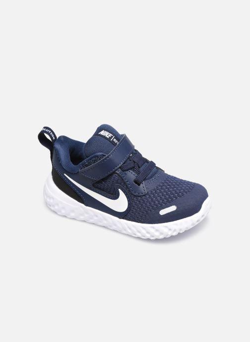 Deportivas Nike Nike Revolution 5 (Tdv) Azul vista de detalle / par