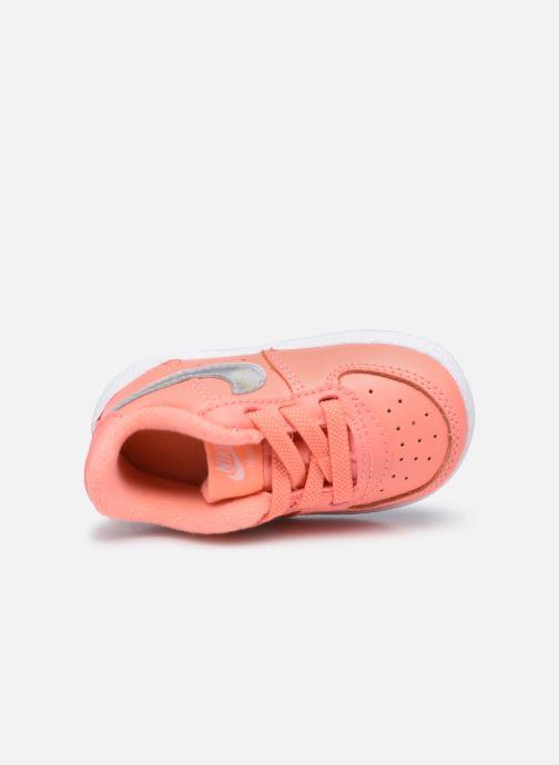 Sneakers Nike Nike Force 1 Crib (Cb) Rosa immagine sinistra