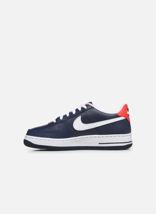 Sneakers Nike Air Force 1 Lv8 Gs Blauw voorkant