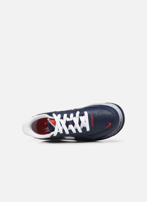Sneakers Nike Air Force 1 Lv8 Gs Blauw links