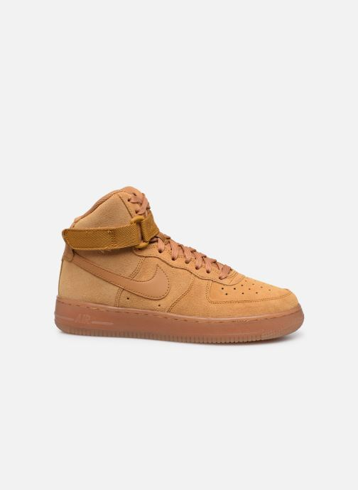 Deportivas Nike Air Force 1 High Lv8 3 (Gs) Marrón vistra trasera