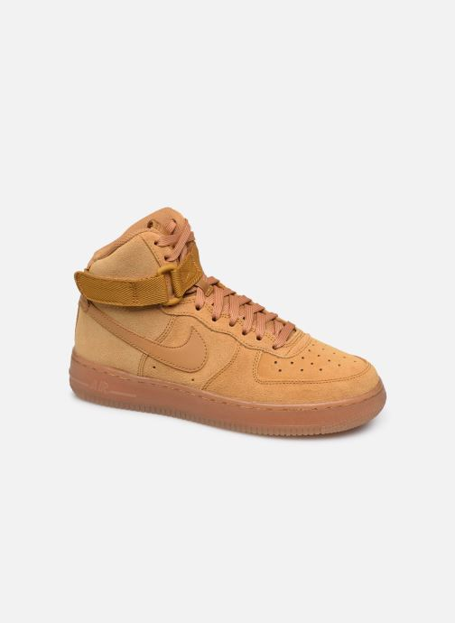 Trainers Nike Air Force 1 High Lv8 3 (Gs) Brown detailed view/ Pair view
