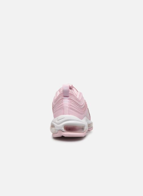 Trainers Nike Air Max 97 Gs Pink view from the right