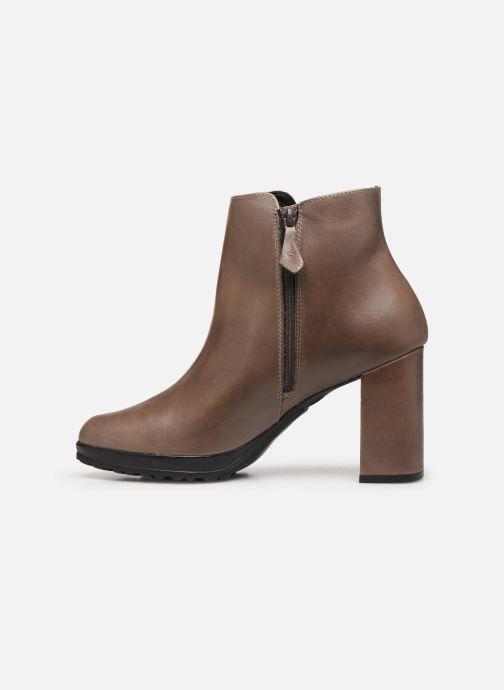 Bottines et boots Elizabeth Stuart Syga 304 Beige vue face