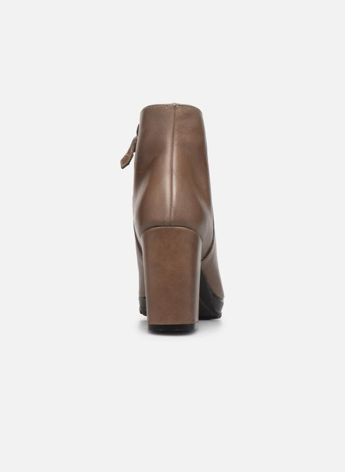 Ankle boots Elizabeth Stuart Syga 304 Beige view from the right