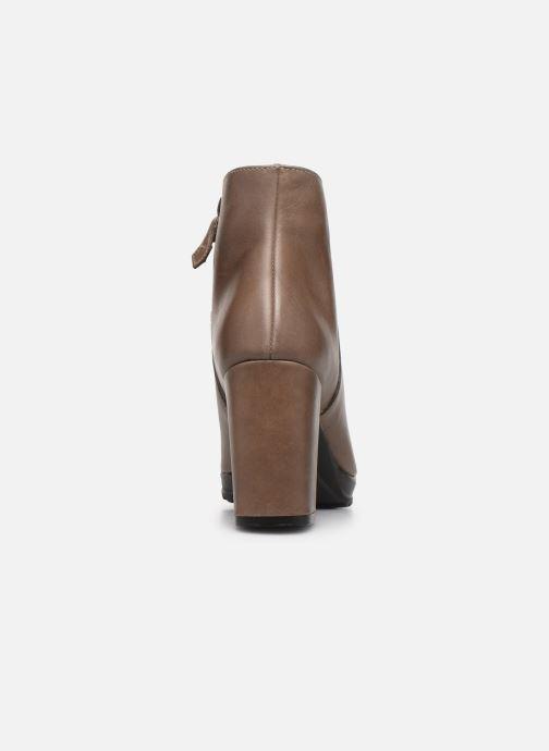 Bottines et boots Elizabeth Stuart Syga 304 Beige vue droite