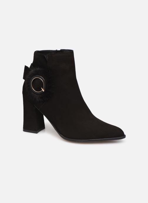 Ankle boots Elizabeth Stuart Crespy 300 Black detailed view/ Pair view