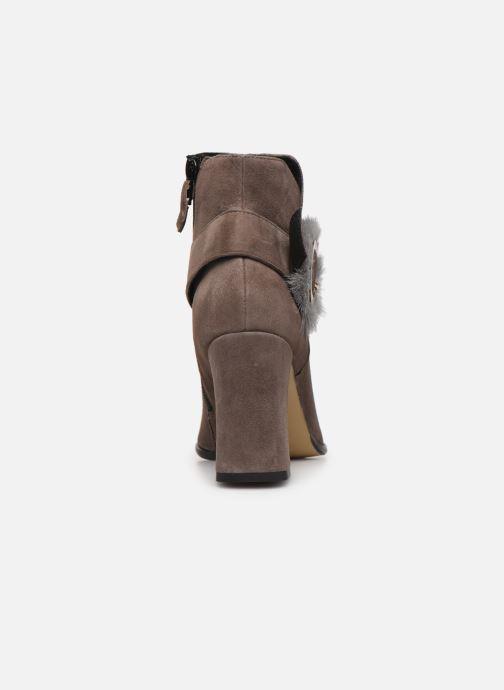 Bottines et boots Elizabeth Stuart Crespy 300 Beige vue droite