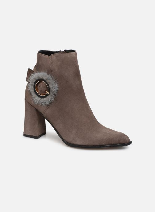 Bottines et boots Elizabeth Stuart Crespy 300 Beige vue détail/paire
