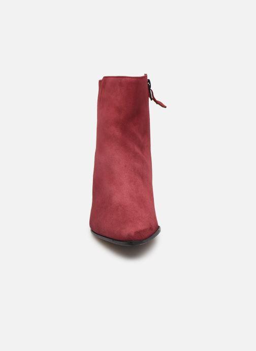 Bottines et boots Elizabeth Stuart Dhexter 745 Bordeaux vue portées chaussures