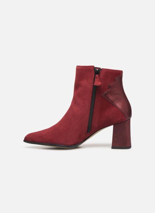 Ankle boots Elizabeth Stuart Dhexter 745 Burgundy front view