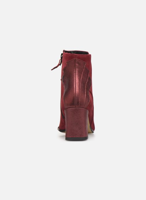 Ankle boots Elizabeth Stuart Dhexter 745 Burgundy view from the right