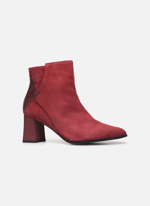 Ankle boots Elizabeth Stuart Dhexter 745 Burgundy back view