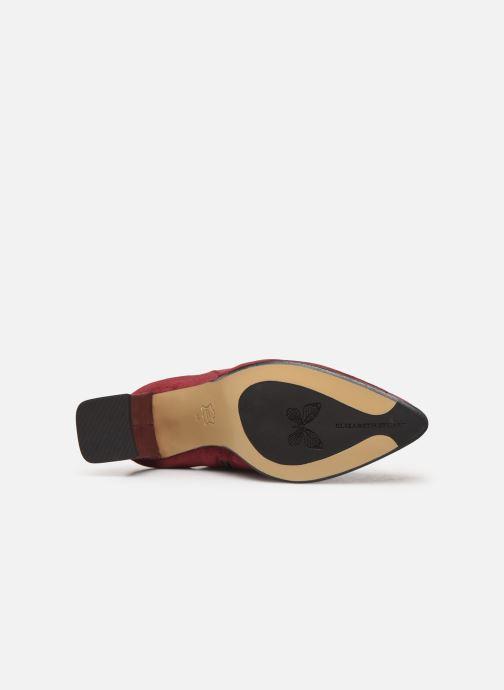 Bottines et boots Elizabeth Stuart Dhexter 745 Bordeaux vue haut