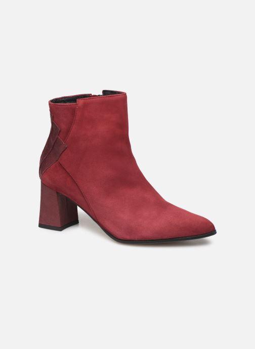 Ankle boots Elizabeth Stuart Dhexter 745 Burgundy detailed view/ Pair view