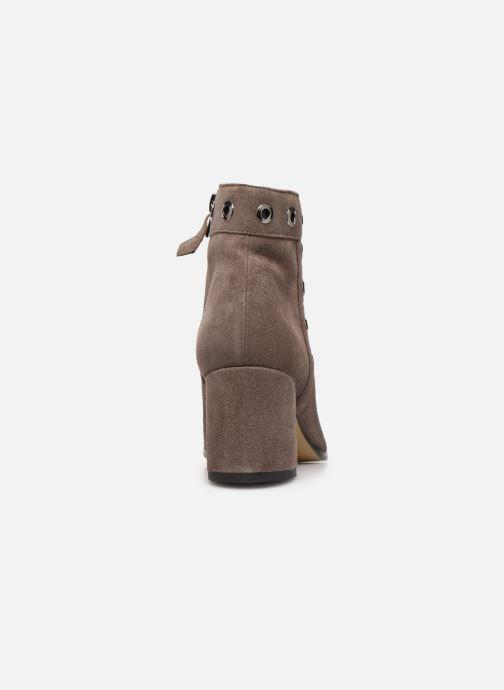 Bottines et boots Elizabeth Stuart Sliman 300 Beige vue droite