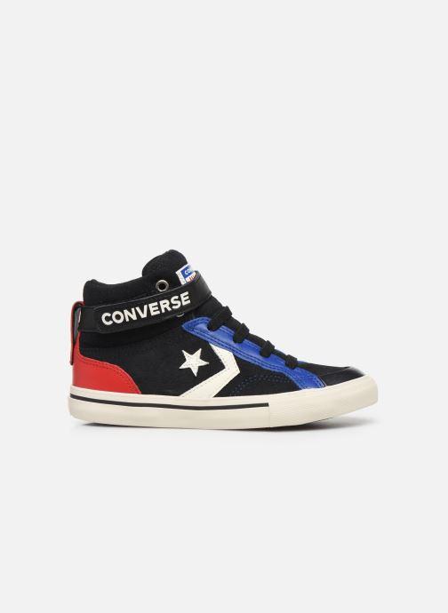 Baskets Converse Pro Blaze Strap Suede/Leather Pack Hi Bleu vue derrière