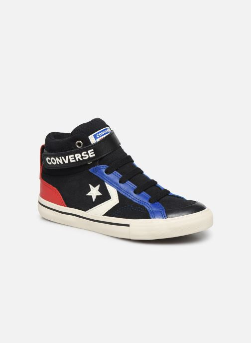Trainers Converse Pro Blaze Strap Suede/Leather Pack Hi Blue detailed view/ Pair view