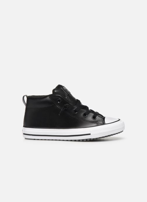 Sneakers Converse Chuck Taylor All Star Street Boot Two-Tone Hiker Leather Mid Zwart achterkant